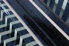 byggande företags facade Arkivbild