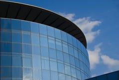 byggande företags glass torn Arkivbild