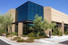 byggande företags modernt kontor royaltyfri bild