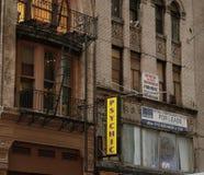 Byggande framdel i New York City Arkivfoton