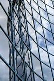 byggande fyllande glasväggvåg Royaltyfri Fotografi
