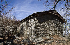 byggande gammal sten Fotografering för Bildbyråer