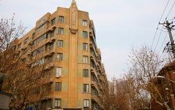 byggande gammala shanghai Arkivbilder