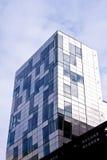 byggande generiskt modernt bostads arkivbild