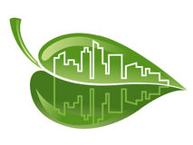 byggande green Royaltyfri Bild