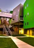 byggande green Royaltyfri Fotografi