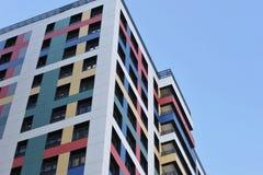 byggande hög modern stigning arkivfoton