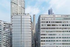 byggande hög modern stigning royaltyfri bild