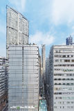 byggande hög modern stigning arkivbilder