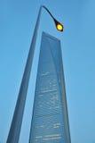 byggande hög stigning shanghai arkivfoton