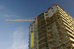byggande hög stigningslokal Arkivbilder