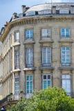 Byggande hörn, verkliga gamla byggande Frankrike Royaltyfri Bild