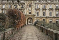 byggande historisk universitetar Royaltyfria Bilder