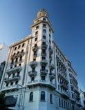 byggande historiska montevideo uruguay Royaltyfri Bild