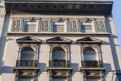 byggande historiska montevideo uruguay Arkivbilder