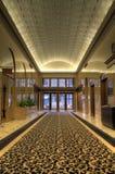 byggande historiskt lobbykontor Arkivfoto