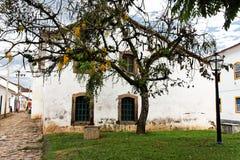 byggande historiskt paraty Royaltyfri Foto