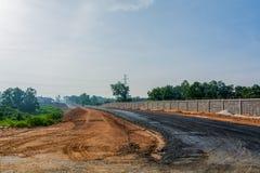 Byggande i Polen Arkivfoto