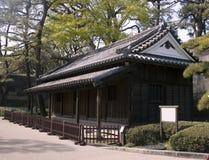 byggande imperialistisk slott tokyo Arkivbild