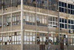 byggande industriell vägg Arkivfoton