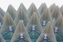 byggande intressant struktur Royaltyfri Fotografi
