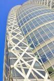 byggande kommersiella japan moderna tokyo Arkivbild