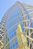 byggande kommersiella japan moderna tokyo Arkivfoto
