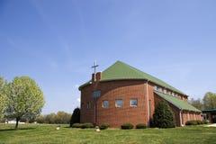 byggande kyrka Royaltyfria Bilder