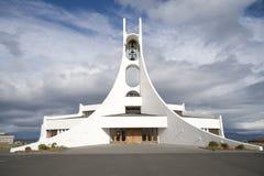 byggande kyrklig samtida Fotografering för Bildbyråer