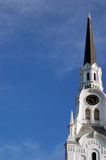 byggande kyrkligt gammalt Arkivfoton
