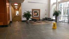 Byggande lobby Royaltyfria Foton