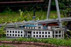 Byggande modell Royaltyfri Fotografi