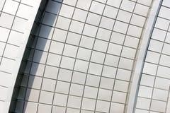 byggande modern vägg Fotografering för Bildbyråer