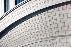 byggande modern vägg Royaltyfri Foto