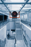 byggande modern ventilation Fotografering för Bildbyråer