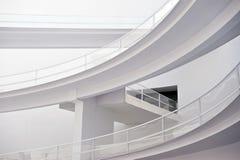 byggande modern white Arkivbilder