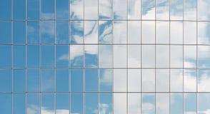 byggande moderna fönster Royaltyfri Fotografi