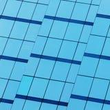 byggande moderna fönster Arkivfoto