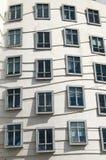byggande moderna fönster Arkivfoton