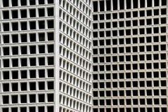 byggande moderna fönster Arkivbild