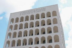 byggande moderna rome Arkivbild