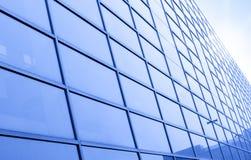 byggande moderna skyskrapor Fotografering för Bildbyråer