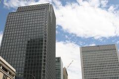 byggande moderna tokyo Arkivbilder