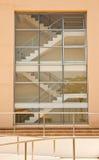 byggande moderna trappuppgångar Royaltyfri Fotografi
