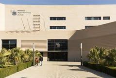 Byggande motsvara till Miguel Hernandez University av Elc royaltyfri bild