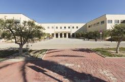 Byggande motsvara till Miguel Hernandez University av Elc royaltyfri fotografi
