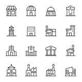 16byggande och fastighet Arkivbild