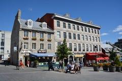 Byggande på plats av Jacques-Cartier Royaltyfri Bild