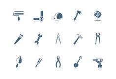 byggande piccolo seriehjälpmedel royaltyfri illustrationer