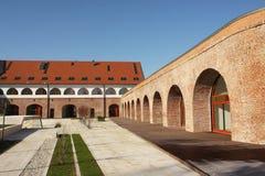 byggande renoverat historiskt Arkivbild